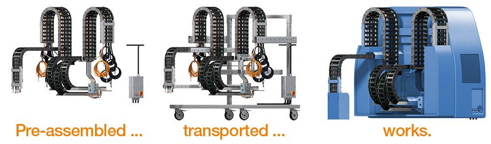 igus readychain transport rek