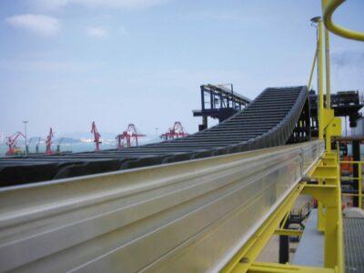 Kabelrups in het havengebied