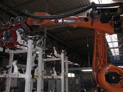 Kabelrups op robot