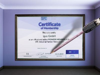 igus - Ethernet Pioneer Member